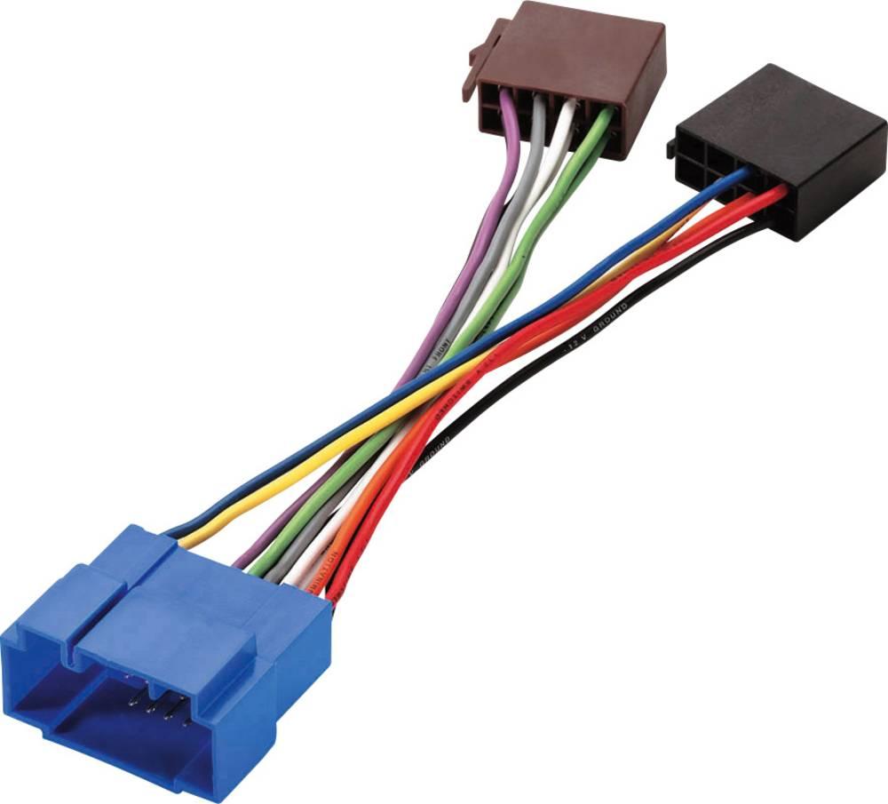 Phonocar adapterkabel ISO - Fiat / Honda / Nissan / Opel / Suzuki Phonocar Adapterkabel Suzuki - ISO