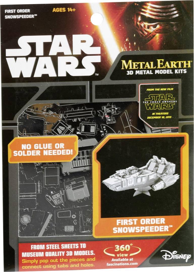 Metal Earth Star Wars Metallbausatz 3D FIRST ORDER SNOWSPEEDER Puzzles & Geduldspiele