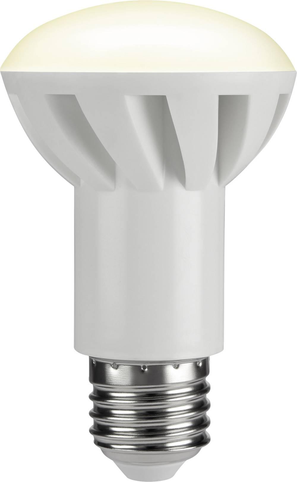 LED žarnica E27 reflektorska 8 W = 50 W topla bela (premer x D) 63 mm x 103 mm EEK: A+ Sygonix 1 kos