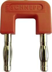 Kortslutningsstik Schnepp 19/4rt Stift-diameter: 4 mm 19 mm Rød 1 stk