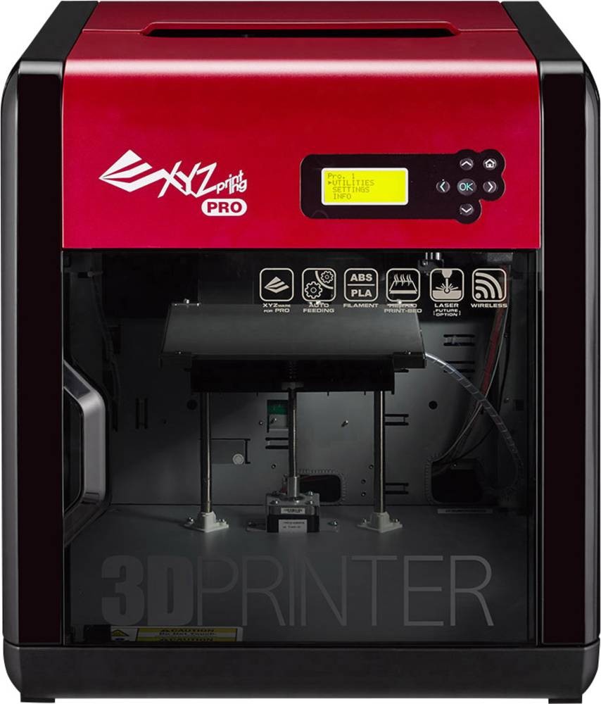 XYZprinting da Vinci 1.0 Pro 3D tiskalnik, enojno iztiskanje, vklj. Programsko opremo