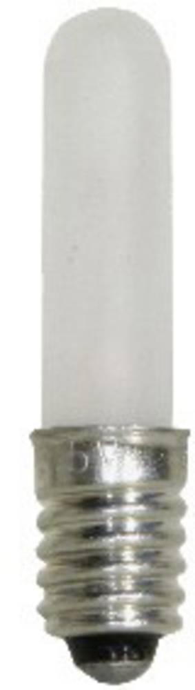 Žarnica 1.2 W podnožje=E5.5 100 mA 12 V Matt BELI-BECO vsebina: 1 kos