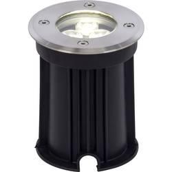 LED-udendørs indbygningsbelysning 3 W Neutral hvid Brilliant Derby G96268/82 Rustfrit stål