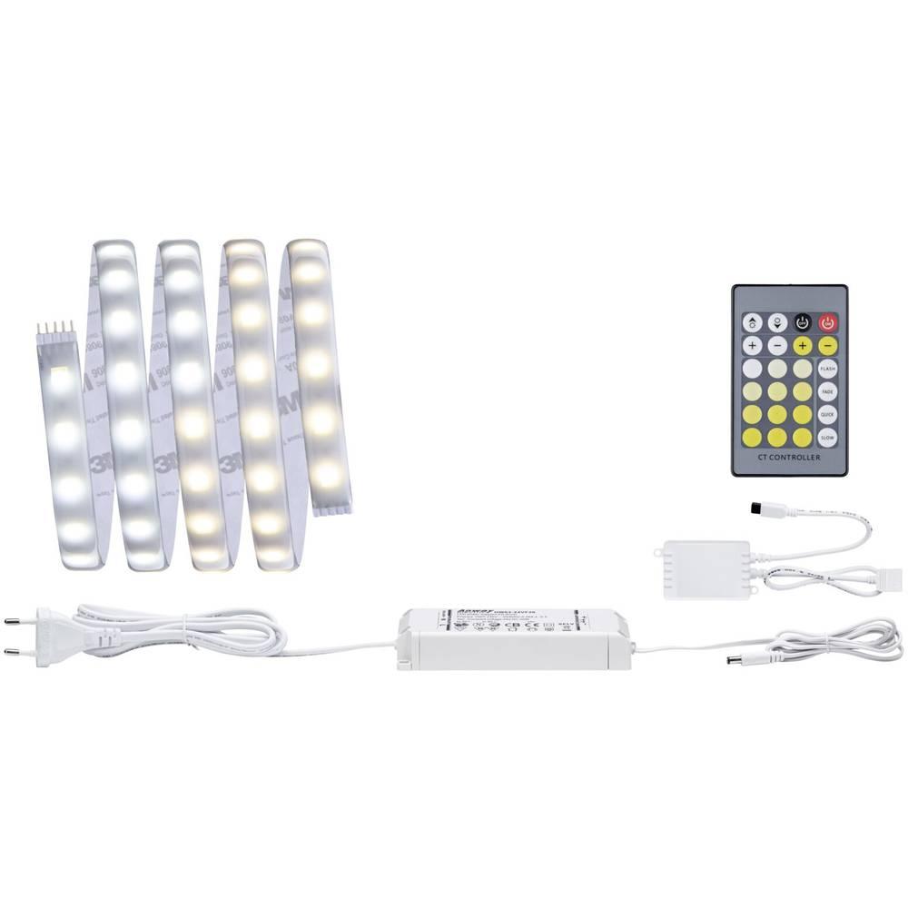 LED-trakovi-osnovni komplet z vtičem 230 V 150 cm toplo-bele barve, nevtralno-bele barve, dnevno-bele barve Paulmann MaxLED Tuna
