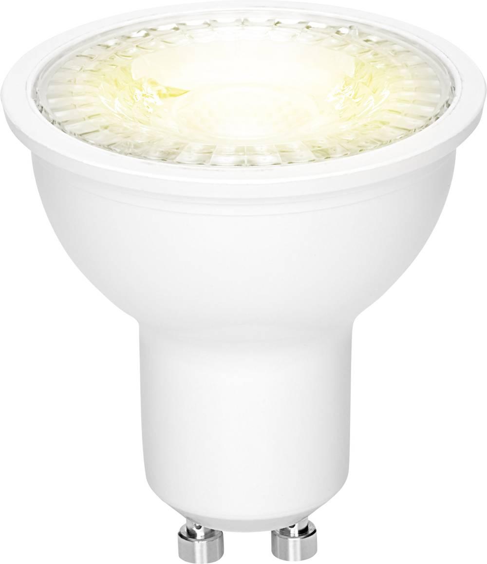 LED žarnica GU10 reflektorska 5 W = 50 W topla bela (premer x D) 50 mm x 54 mm EEK: A+ Sygonix 1 kos