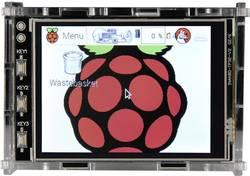 Raspberry Pi® Hölje Raspberry Pi® Gehäuse für 3.2 Raspberry Touch Display Akrylglas klar