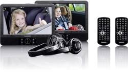 Nakkestøtte DVD-afspiller med 2 skærme Lenco DVP-939 Skærmstørrelse=22.5 cm (9 )