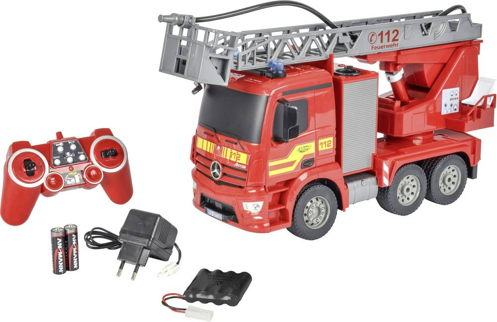 Carson RC Sport Feuerwehrwagen 1:20 RC začetniški model Einsatzfahrzeug vključuje akumulator, polnilnik und Senderbatterien