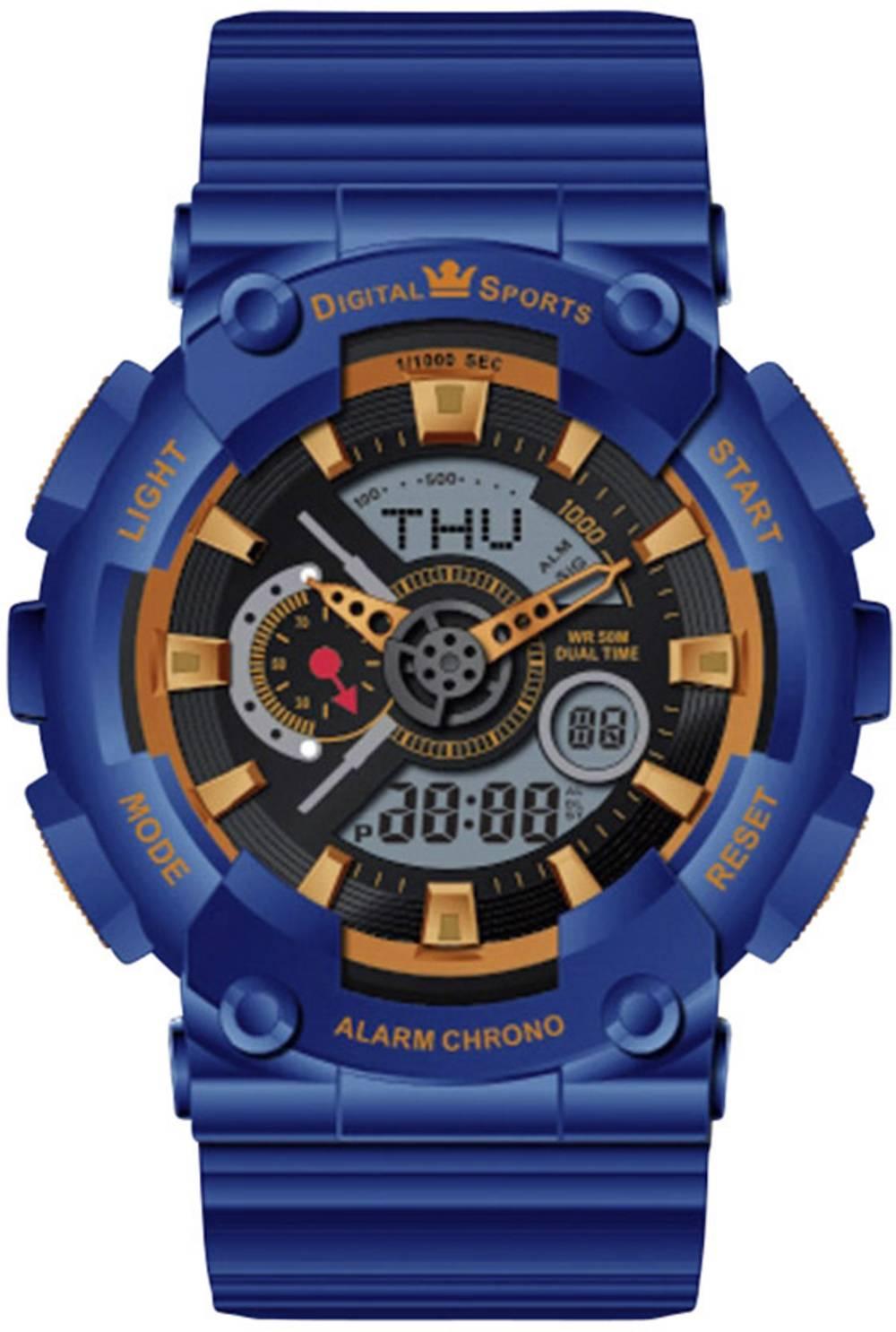 44515/07 Ročna ura, modra materijal ohišja=plastika materijal paščka=plastika