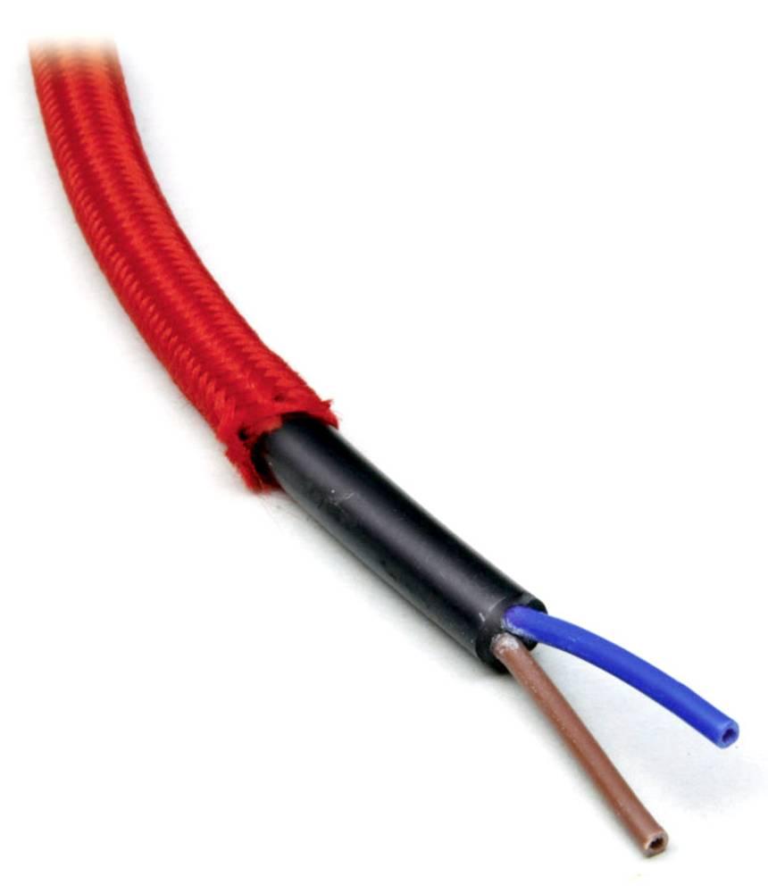 Priključni vodnik H05VV-F 3 x 1 mm rdeče barve BKL Electronic 071104/10 10 m