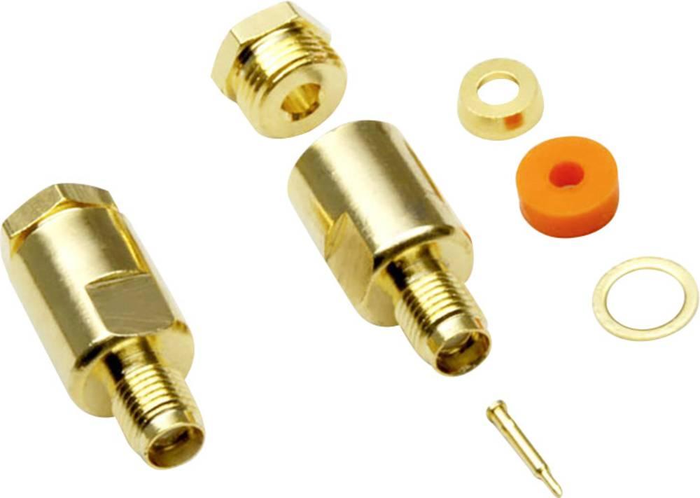 SMA-reverse-stikforbindelse BKL Electronic 0419010 50 Ohm Kobling, lige 1 stk