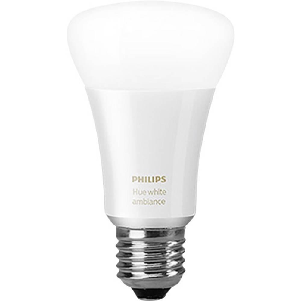 Philips Lighting Hue LED-lampa (1 st) White ambiance E27 9.5 W Varmvit, Neutralvit, Kallvit 1 st