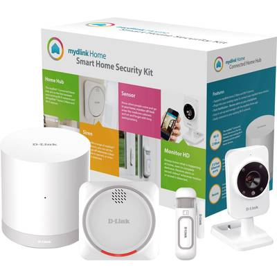 D-Link DCH-107KT Security starter kit Security