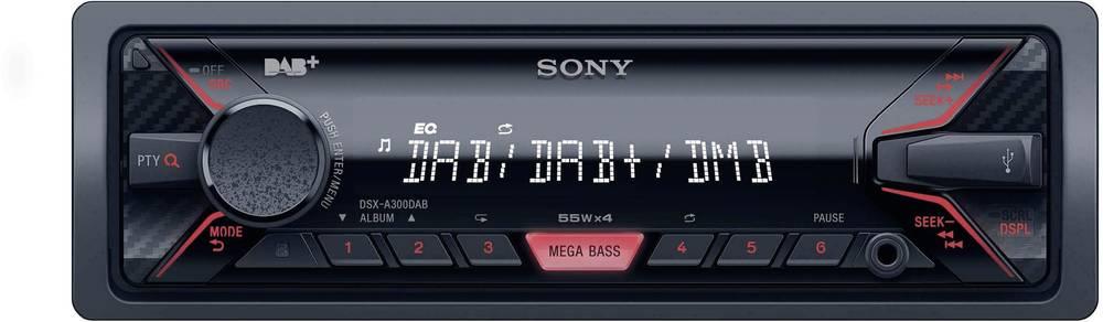 Bilradio Sony DSX-A300DAB DAB+ tuner