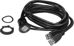 TRU COMPONENTS USB 2.0 1.5 m Svart 1 st