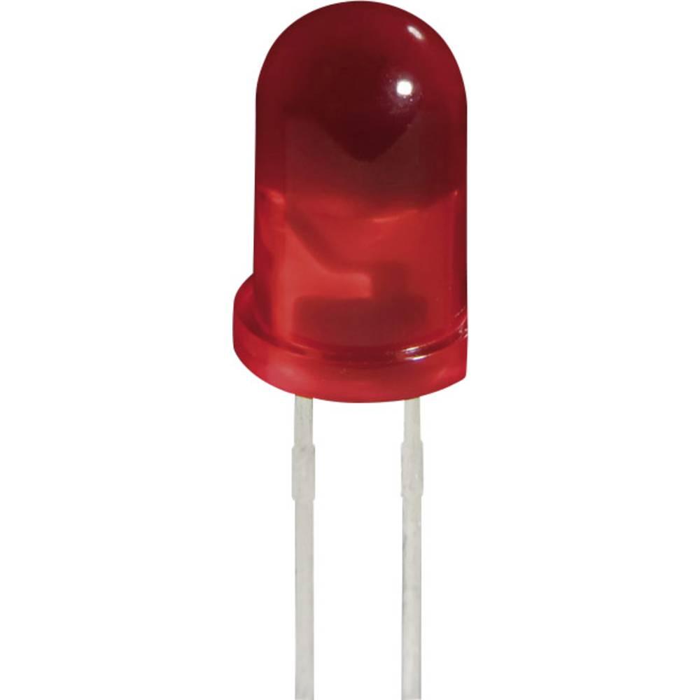 LED med ledninger Kingbright 5 mm 2 mcd 60 ° 2 mA 2.1 V Gul