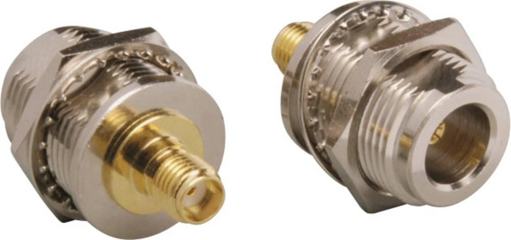 SMA-adapter SMA-tilslutning - N-tilslutning BKL Electronic 0404084 1 stk
