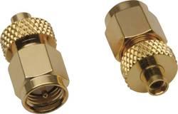 SMA-adapter SMA-stik - MMCX-tilslutning BKL Electronic 0409062 1 stk