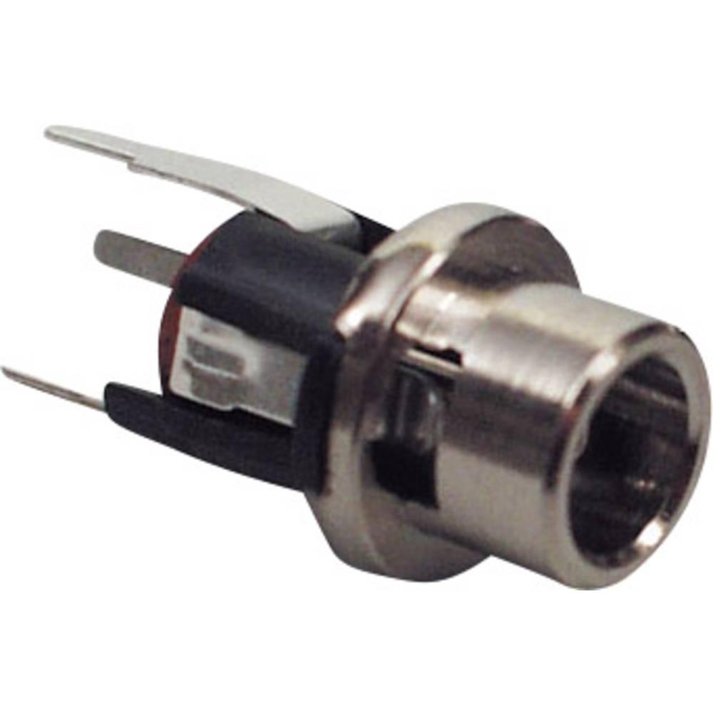 Lavspændingsstik Tilslutning, indbygning lodret 5.7 mm 2.5 mm BKL Electronic 072338 1 stk