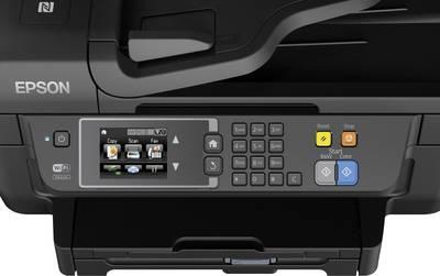 Epson WorkForce WF-2760DWF Inkjet multifunction printer A4 Printer, Fax, Copier, Scanner LAN, WLAN, NFC, Duplex