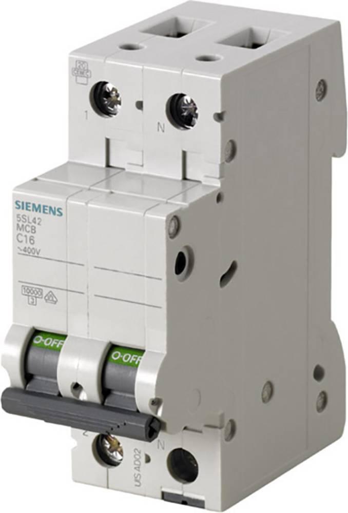 Inštalacijski odklopnik 2-polni 13 A 230 V Siemens 5SL4513-6