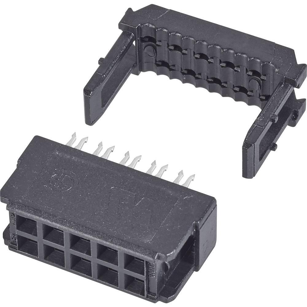 Stiftliste Rastermål: 2.54 mm Samlet antal poler: 40 TE Connectivity 1 stk