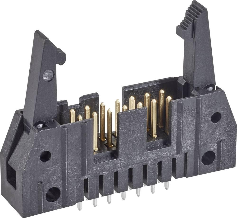 Stiftliste med langt udløsergreb Rastermål: 2.54 mm Samlet antal poler: 14 TE Connectivity 1 stk
