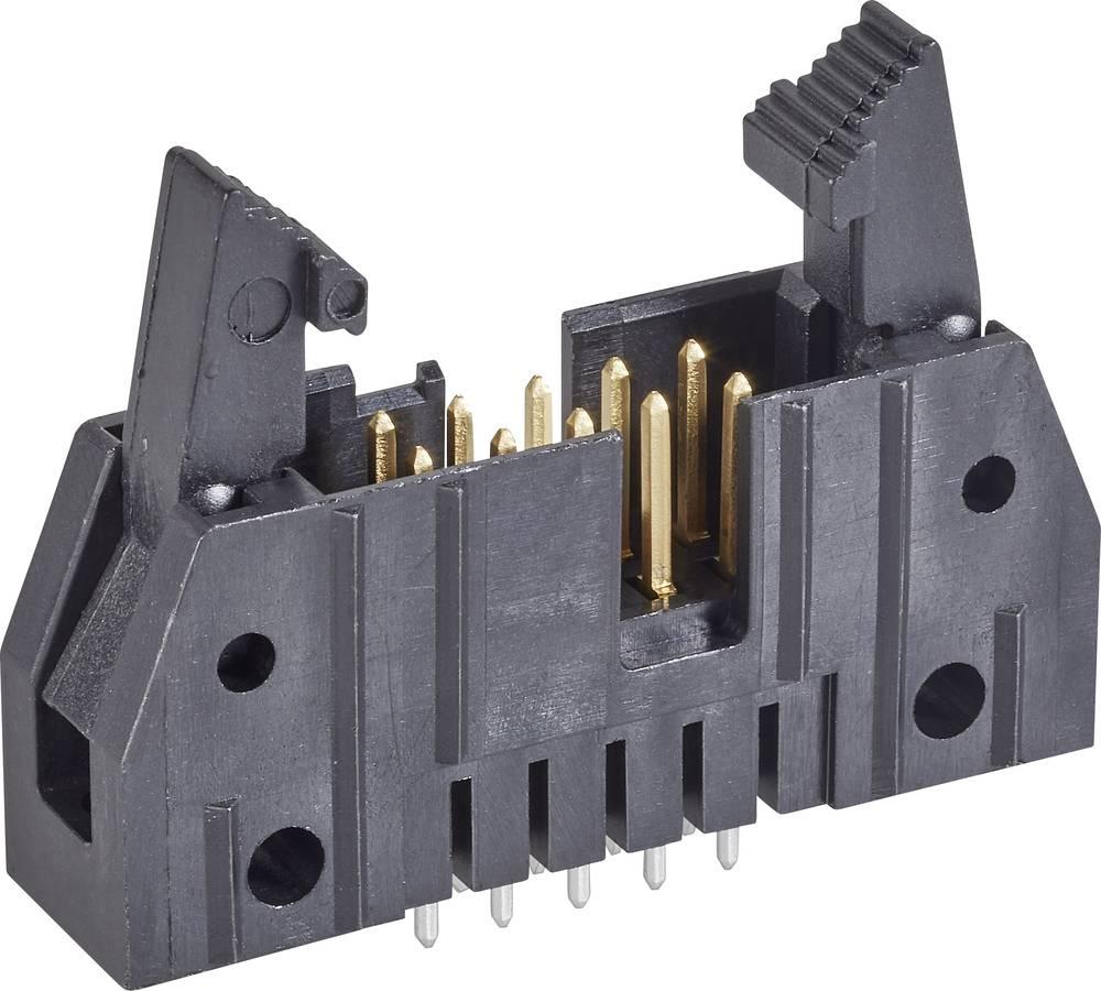 Stiftliste med kort udløsergreb Rastermål: 2.54 mm Samlet antal poler: 40 TE Connectivity 1 stk