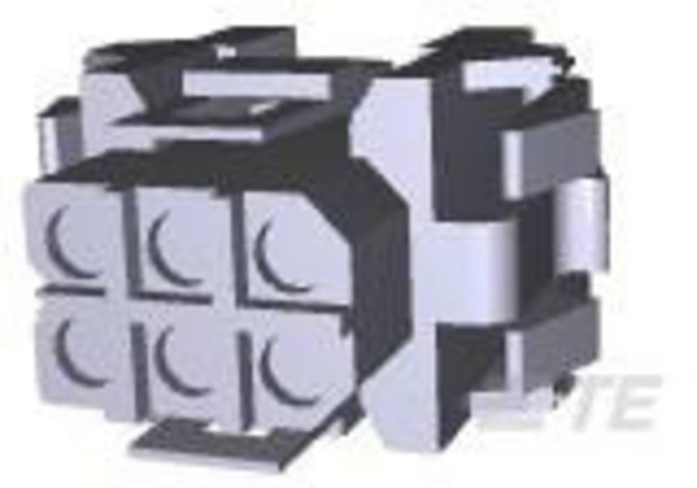 Ohišje kabelske vtičnice, skupno št. polov: 6 TE Connectivity 207152-1 razporeditev kontaktov: 5 mm 1 kos