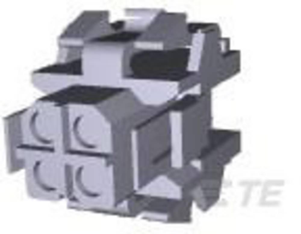 Tilslutningskabinet-kabel Metrimate Samlet antal poler 4 TE Connectivity 207015-1 Rastermål: 5 mm 1 stk