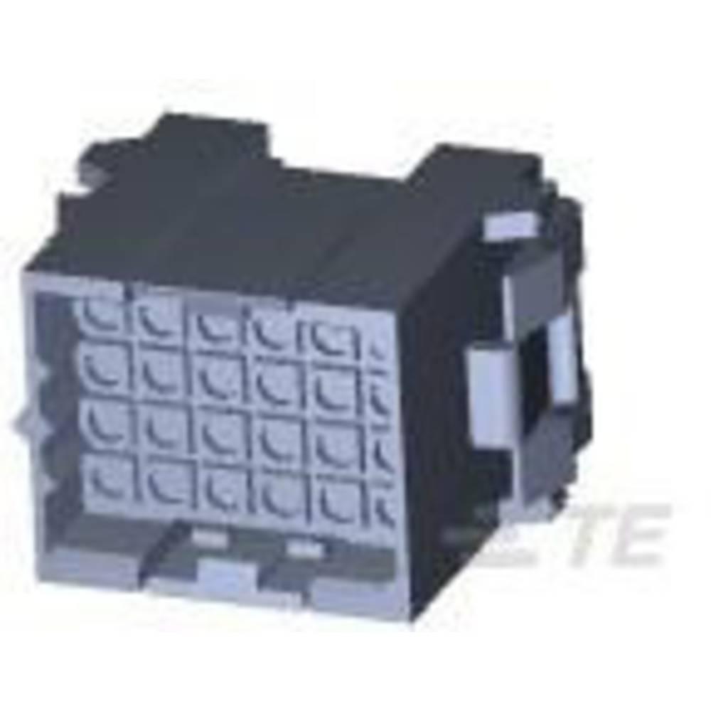 Ohišje kabelskega vtiča, skupno št. polov: 24 TE Connectivity 207305-1 razporeditev kontaktov: 5 mm 1 kos