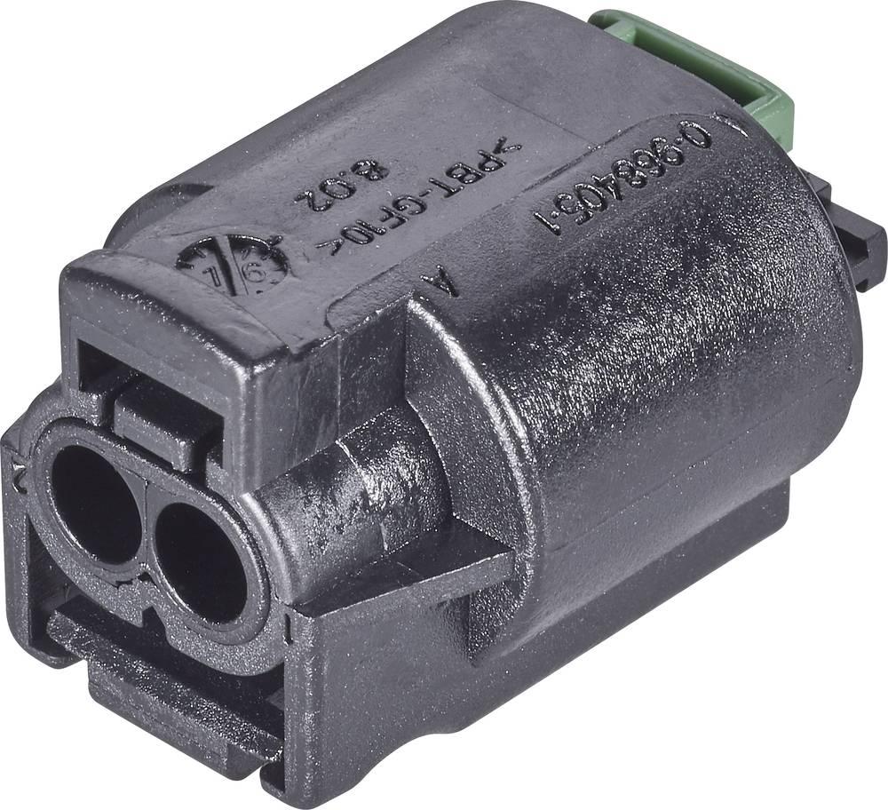 Tilslutningskabinet-kabel AMP MQS Samlet antal poler 6 TE Connectivity 1-967616-1 1 stk