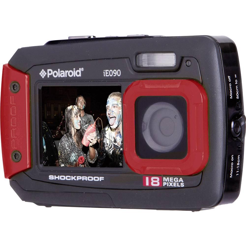 Digital camera polaroid ie090 18 mpix black red underwater camera digital camera polaroid ie090 18 mpix black red underwater camera dustproof front display fandeluxe Images