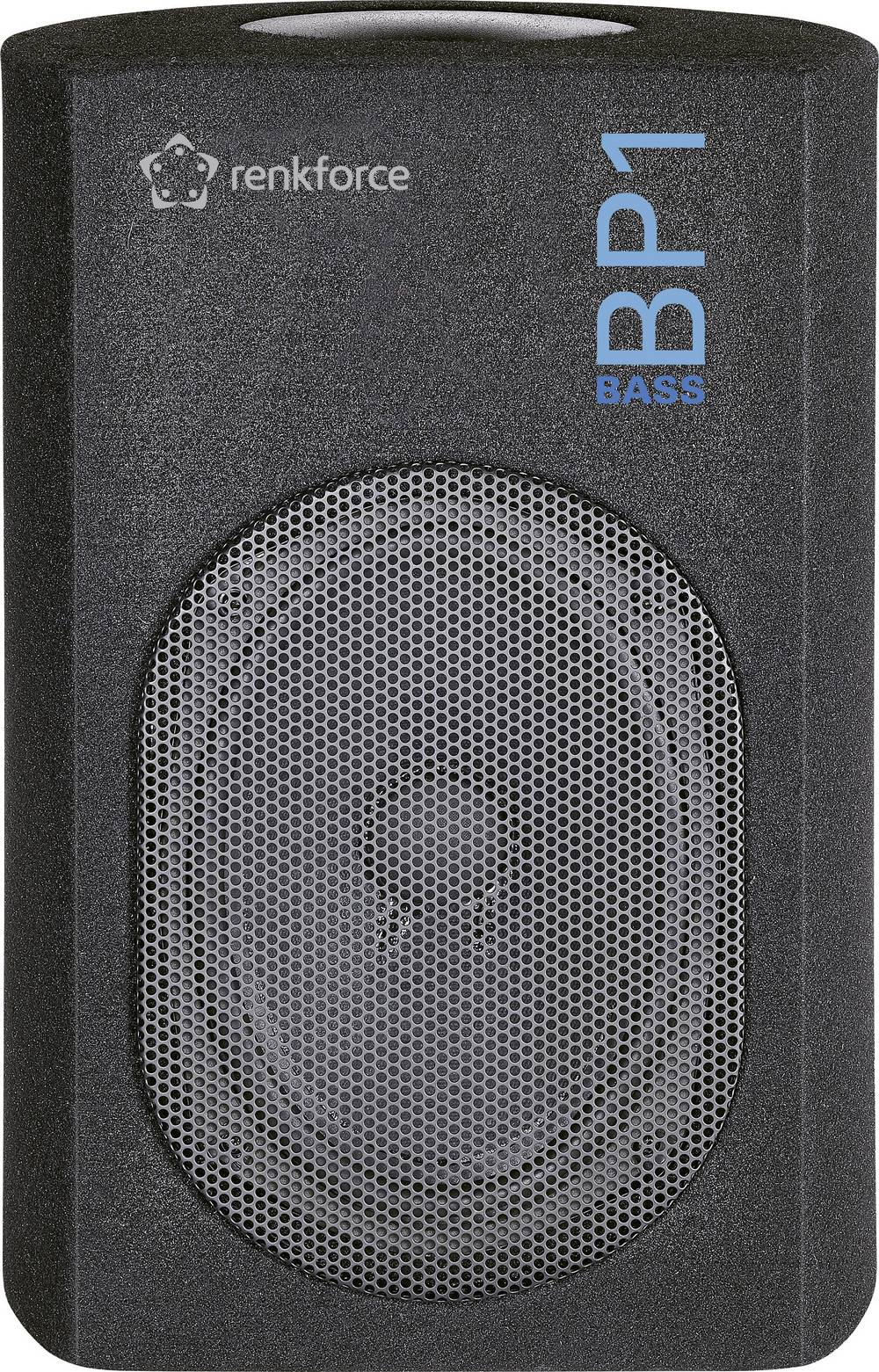 Auto-passiv subwoofer Renkforce Bass BP1 80 W