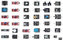 Senzorski komplet 37 v 1, senzorski komplet za Arduino™ primeren za (Arduino Boards): Arduino