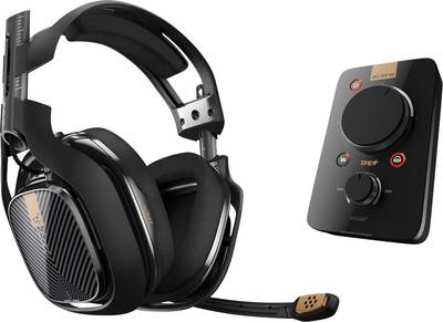 Image of Astro Gaming A40 TR Headset Gaming headset 3.5 mm jack Corded, Stereo Over-the-ear Black