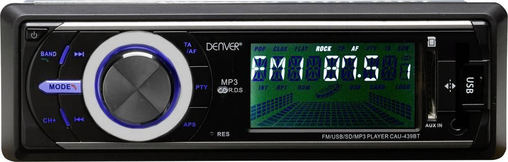 Bilradio Denver CAU-439BT Håndfrit Bluetooth®-system