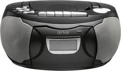 FM CD-radio Denver TCP-39 AUX, CD, Kassette, FM Sort