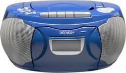 FM CD-radio Denver TCP-39 AUX, CD, Kassette, FM Blå