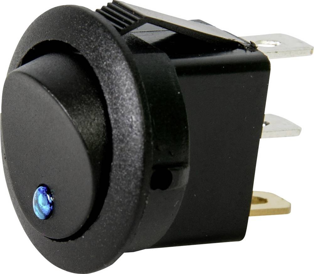 Bil-vippekontakt HP Autozubehör 12 V 10 A 1 x Off/On Klikkende 1 stk