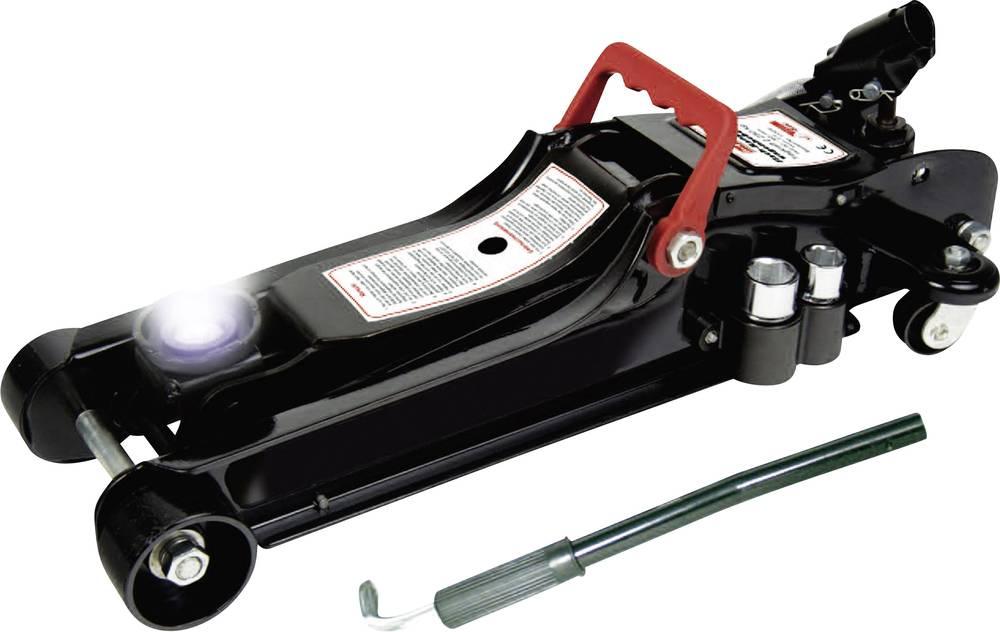 Fladskærms-bil jack 2,25 g med LED 2.25 t HP Autozubehör 11325 Flach-Rangierheber 2,25t LED