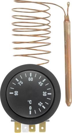 Termostat för inbyggnad 110 V/AC, 250 V/AC Basetech Y304958C Svart