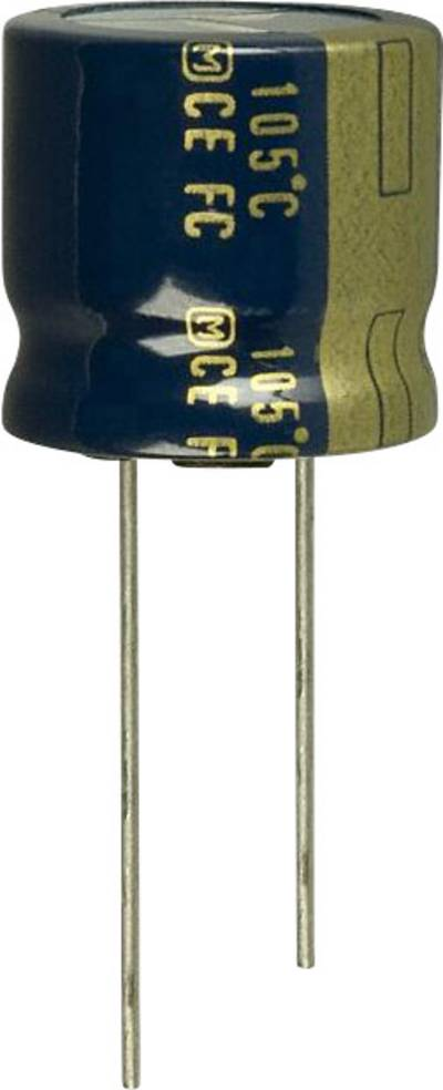 Image of Panasonic EEU-FC0J332S Electrolytic capacitor Radial lead 7.5 mm 3300 µF 6.3 V 20 % (Ø) 18 mm 1 pc(s)