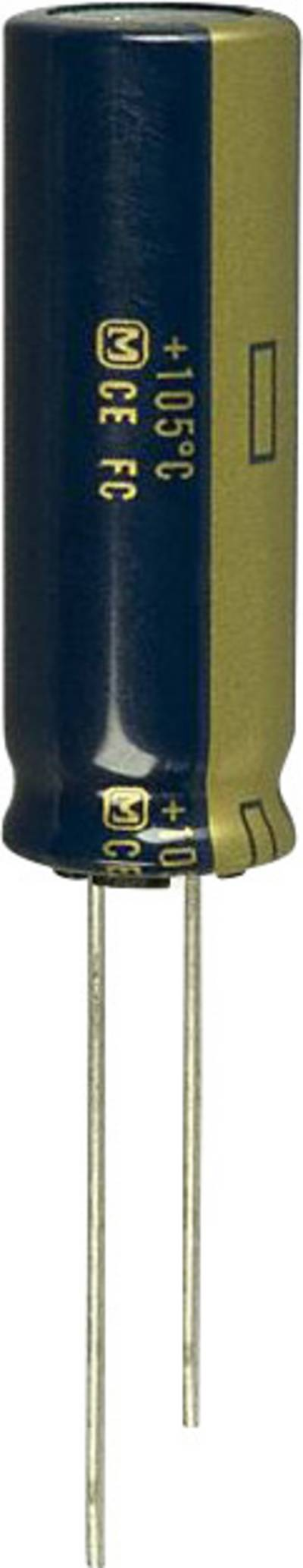 Image of Panasonic EEU-FC1A392L Electrolytic capacitor Radial lead 5 mm 3900 µF 10 V 20 % (Ø) 12.5 mm 1 pc(s)