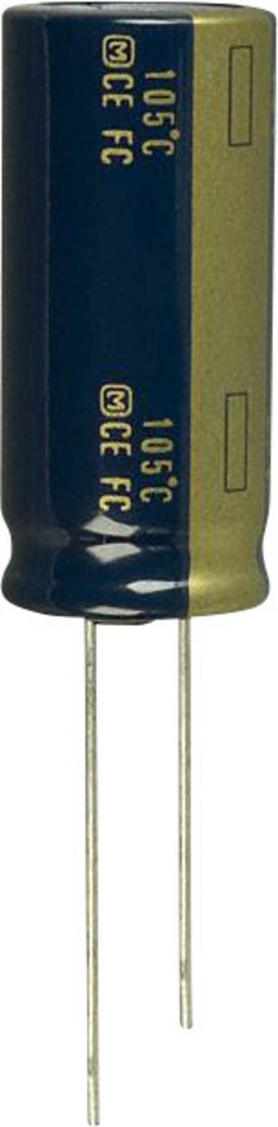 Image of Panasonic EEU-FC1E392L Electrolytic capacitor Radial lead 7.5 mm 3900 µF 25 V 20 % (Ø) 16 mm 1 pc(s)