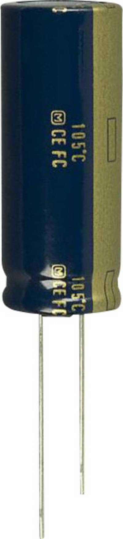 Image of Panasonic EEU-FC1J122L Electrolytic capacitor Radial lead 7.5 mm 1200 µF 63 V 20 % (Ø) 16 mm 1 pc(s)