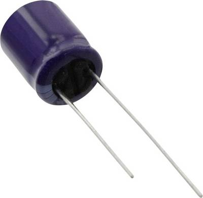 Image of Panasonic ECA-0JM332 Electrolytic capacitor Radial lead 5 mm 3300 µF 6.3 V 20 % (Ø) 10 mm 1 pc(s)