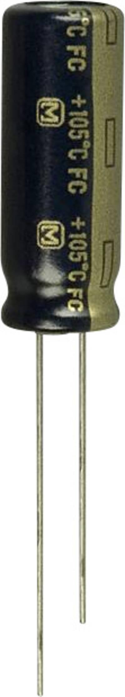 Image of Panasonic EEU-FC0J122L Electrolytic capacitor Radial lead 3.5 mm 1200 µF 6.3 V 20 % (Ø) 8 mm 1 pc(s)