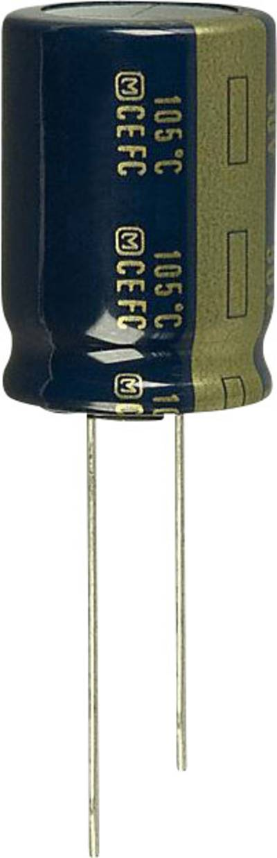 Image of Panasonic EEU-FC1C392 Electrolytic capacitor Radial lead 7.5 mm 3900 µF 16 V 20 % (Ø) 16 mm 1 pc(s)