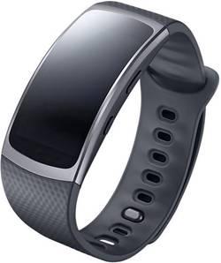 Smartarmbånd Samsung Gear Fit 2 3.8 cm 1.5  Mørkegrå